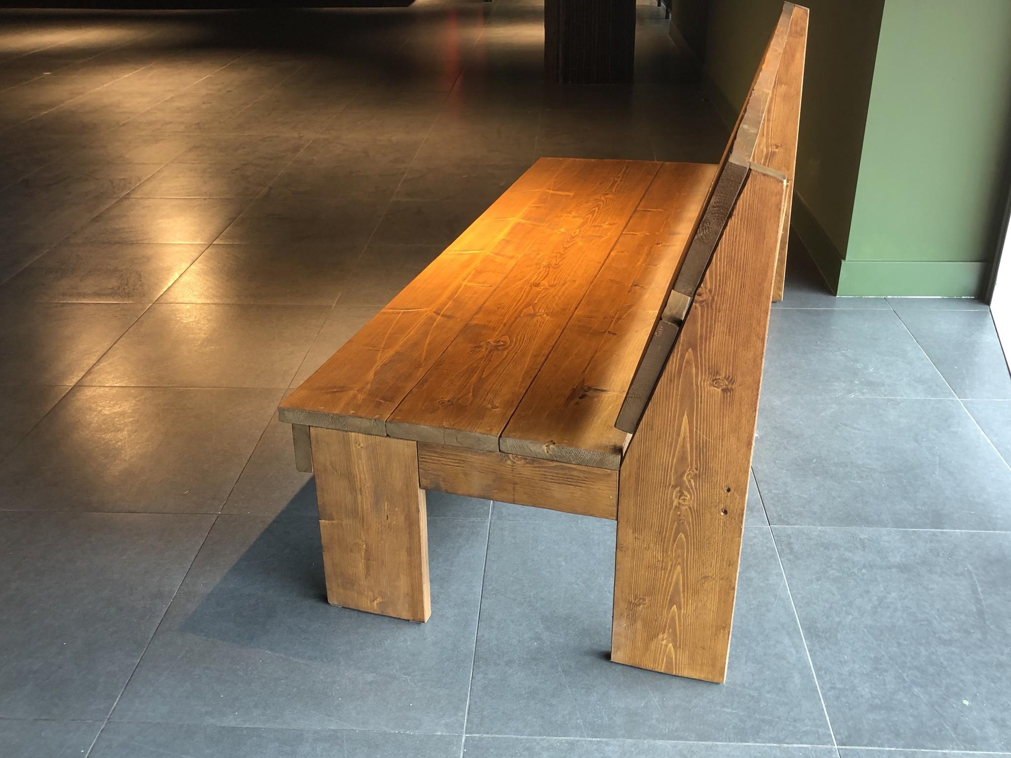 Alvares Terrasbank  van steigerhout