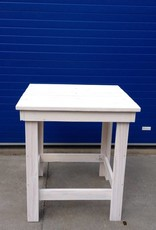 Steigerhout Bartafel XL in white wash