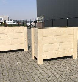 Hirs Pflanzgefäß aus Holz