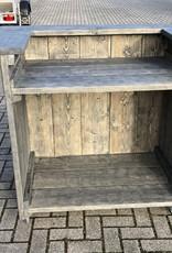 Alwoodly Mobile Bar / Theke von Bauholz