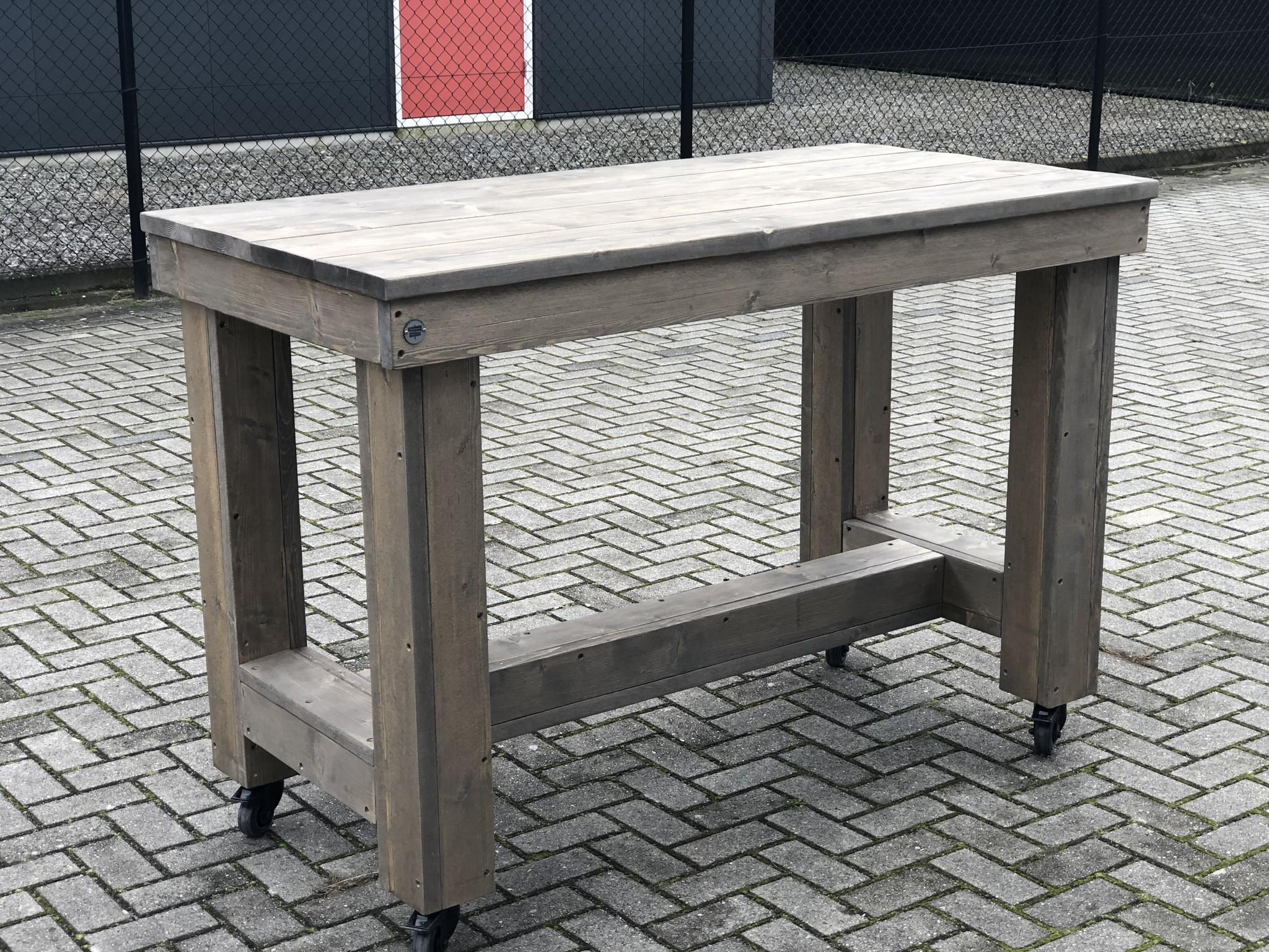 Sint Oedenrode Bartafel / Kloostertafel op wielen