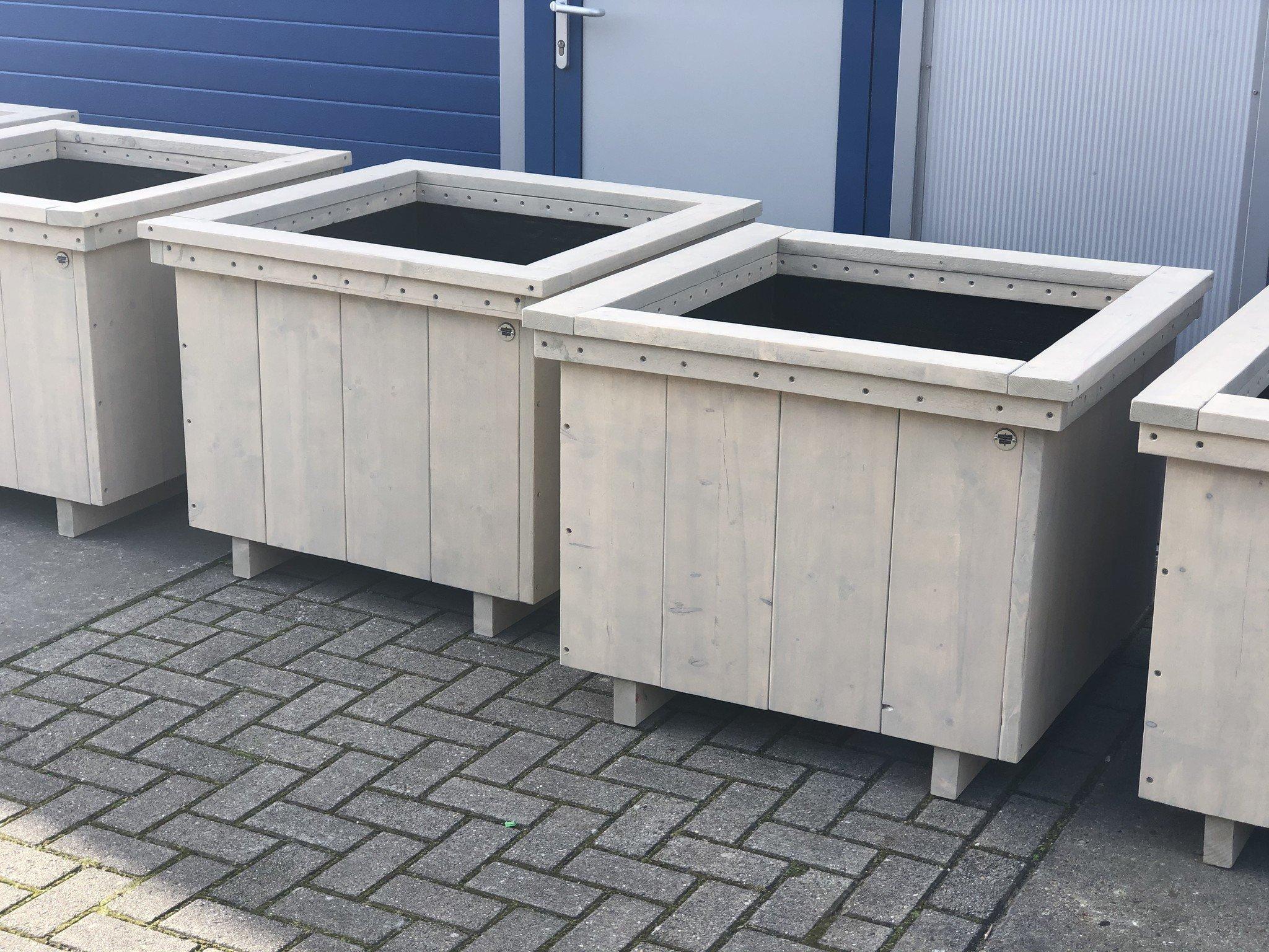 Wilco Plantenbak / Bloembak van steigerhout