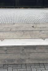 Bas Bank met bergruimte en leuning aan 1 kant