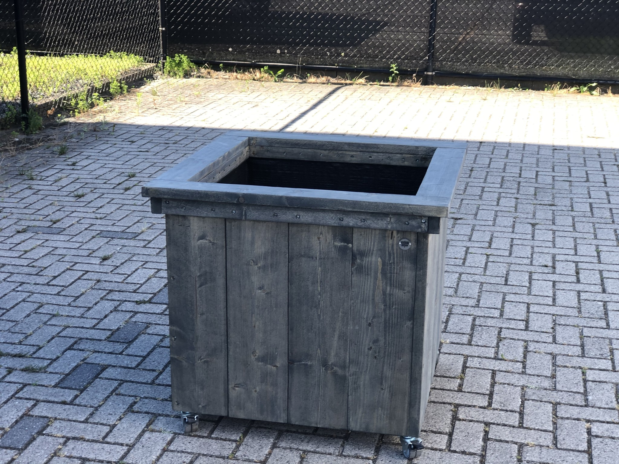 Deventer Plantenbak / Bloembak op wieltjes: Model Deventer