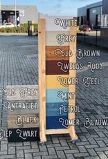 Jorden Hoekbureau / Hoekburo van steigerhout in diverse afmetingen en kleuren