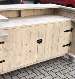 Luc van Vlaanderen Deluxe Verrijdbare Toog / Bar / Toonbank