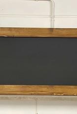 Alvares Krijtbord met een lijst van steigerhout