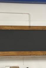 Alvares Krijtbord met een lijst van steigerhout:  Model Alvares