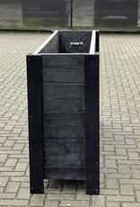 Hirs Plantenbak / Bloembak van steigerhout XL : Model `Hirs