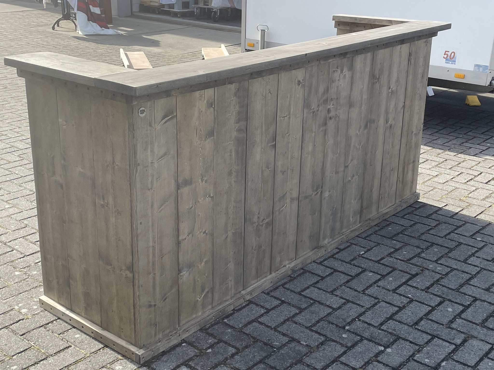 Staphorst Toonbank / Balie / Receptie van steigerhout