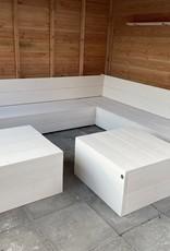 Hetty Hoekbank van steigerhout: Model Hetty