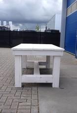 Portagem Kloostertafel in white wash