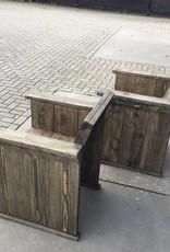 Toledo Tuinstoel van steigerhout: Model Toledo