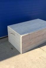 Dekenkist / Opbergkist van oud steigerhout