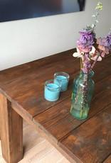 Polder Spring Eettafel set van steigerhout