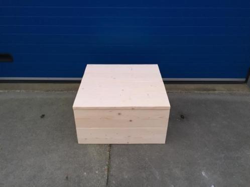 Kist / Hocker / Dekenkist van steigerhout