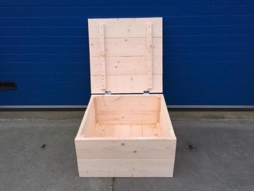Kyle Kist / Hocker / Dekenkist van steigerhout