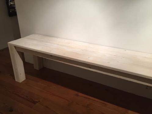 Fedde Smalle Tafel van steigerhout