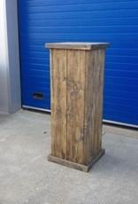 Zuil / Pilaar / Sokkel van steigerhout