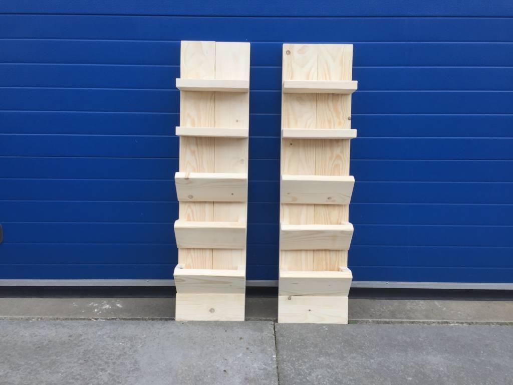 Hangkastjes / Nachtkastjes van steigerhout