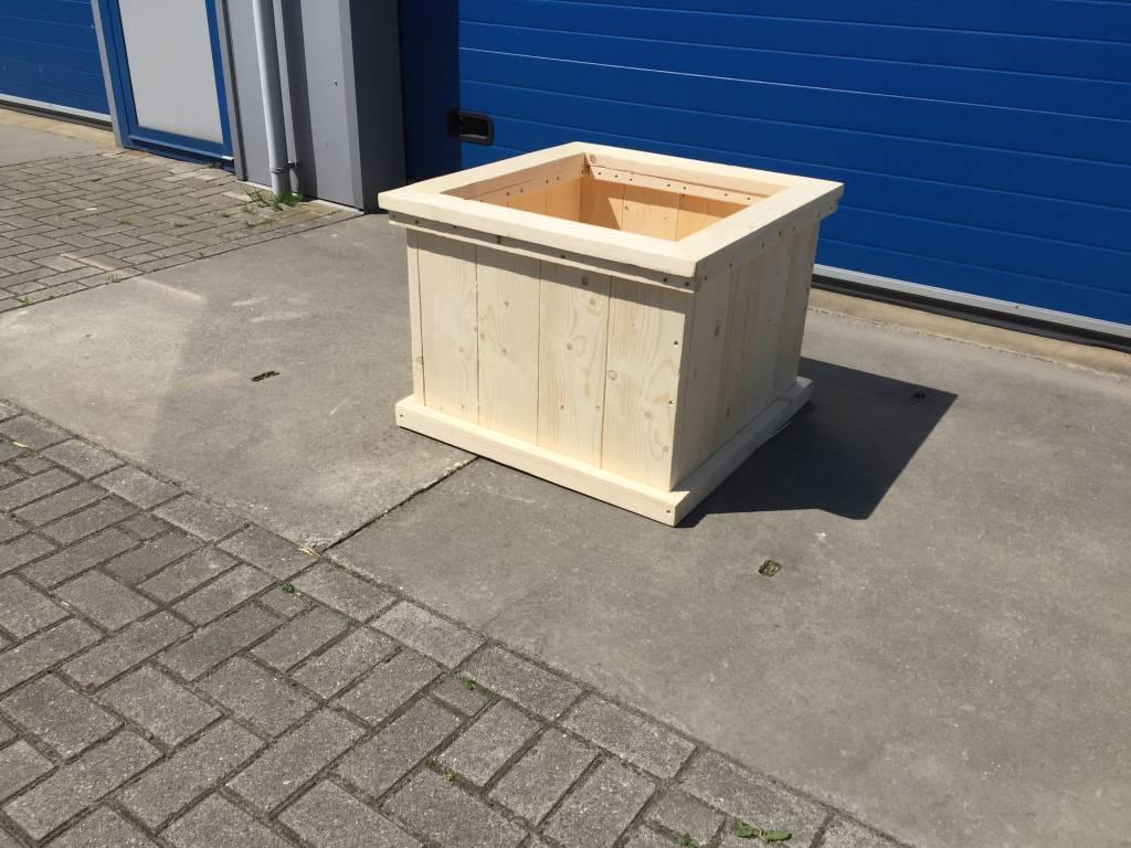 Zeeland plantenbak / Bloembak van steigerhout