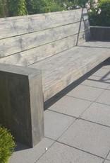 De Manege Loungebank van steigerhout