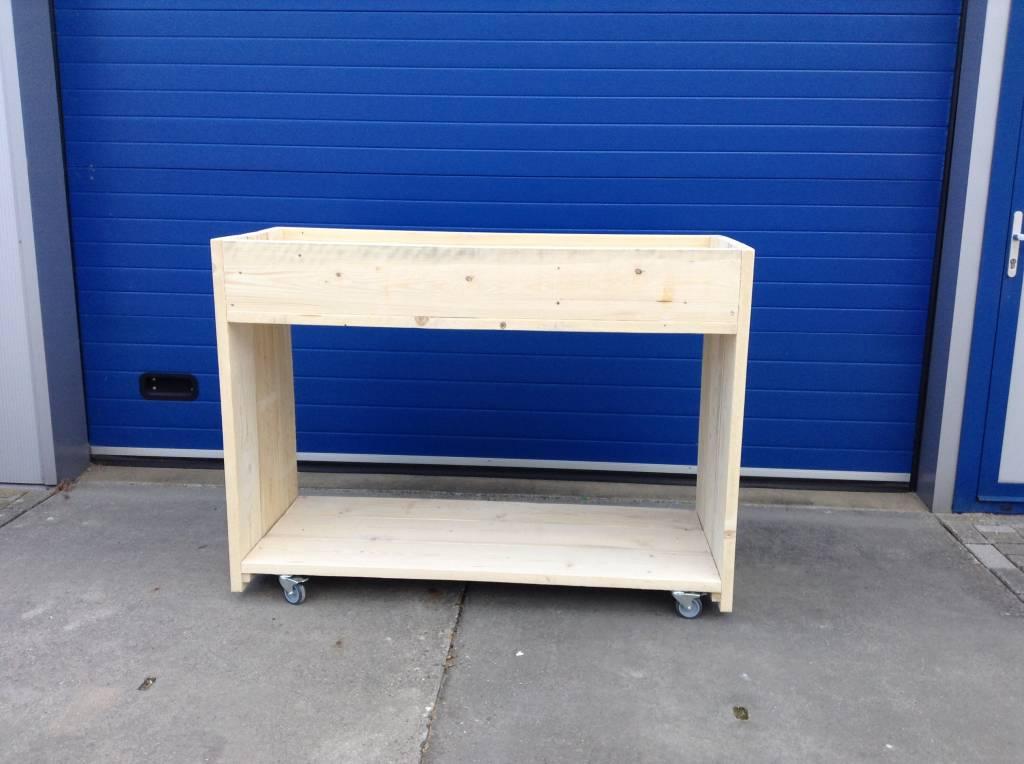 Oppottafel / Plantentafel / Werktafel van steigerhout