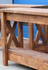 Sidetable van steigerhout