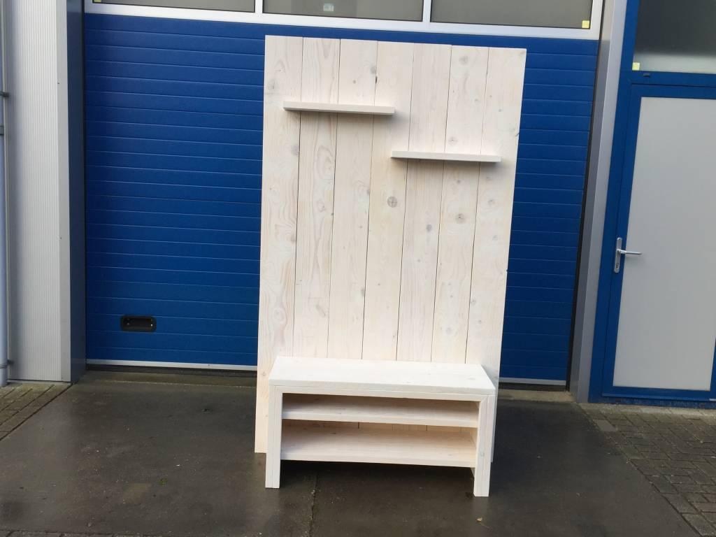 Trent TV meubel / Wandmeubel van steigerhout