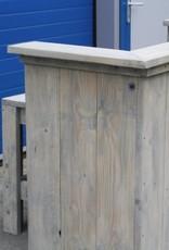 Toonbank / Balie / Receptie van steigerhout