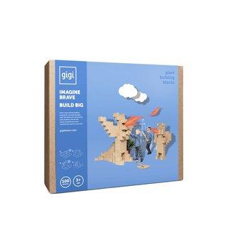 GIGI Blocks Blocs GIGI, 100 pièces