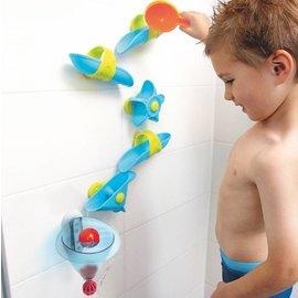 Haba Toboggan à billes Les plaisirs du bain – Entonnoir à eau