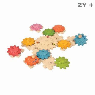 Plan Toys Gears & Puzzles Deluxe
