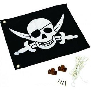 KBT Vlag met hijssysteem Piraat