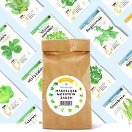 Makkelijke Moestuin Emballage de semences Saisonnier