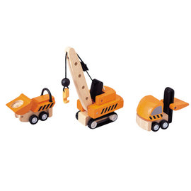 Plan Toys Constructievoertuigen