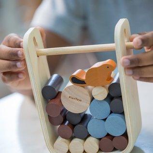 Plan Toys Jeu Beaver: Timber Tumble