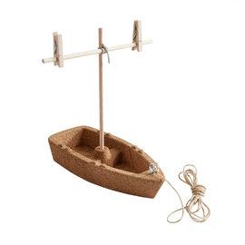 Haba Bouwpakket kurken boot
