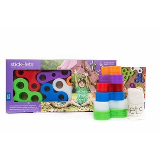 Stick-lets Stick-let: Mega Fort Kit 18pc