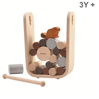 Plan Toys Bever spel: Timber Tumble