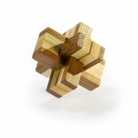 Eureka Bamboo puzzle 3D Knotty