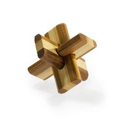Eureka Bamboo puzzle 3D Double Cross