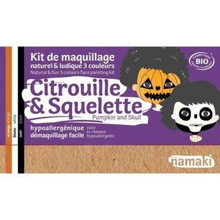 Namaki Citrouille et skeleton