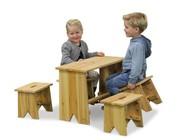 Tables pour les jambes courtes!