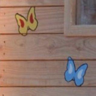 Woodex Sjabloon Vlinder