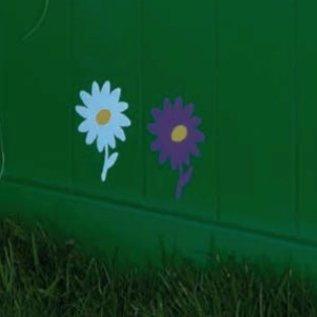 Woodex Pochoir Fleur (5 pièces)