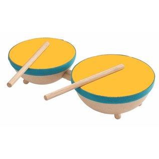 Plan Toys Double tambour