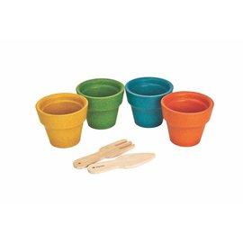 Plan Toys Pots de fleurs
