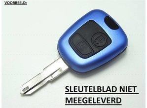 Autosleutel Peugeot - behuizing