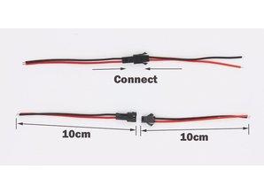 Stekker verbinding auto 2 pin